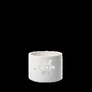Winter Flurries - Pedestal Jar Holder