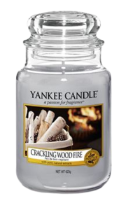 Crackling Wood Fire - Large Jar