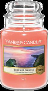 Cliffside Sunrise - Large Jar