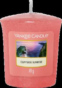 Cliffside Sunrise - Votive